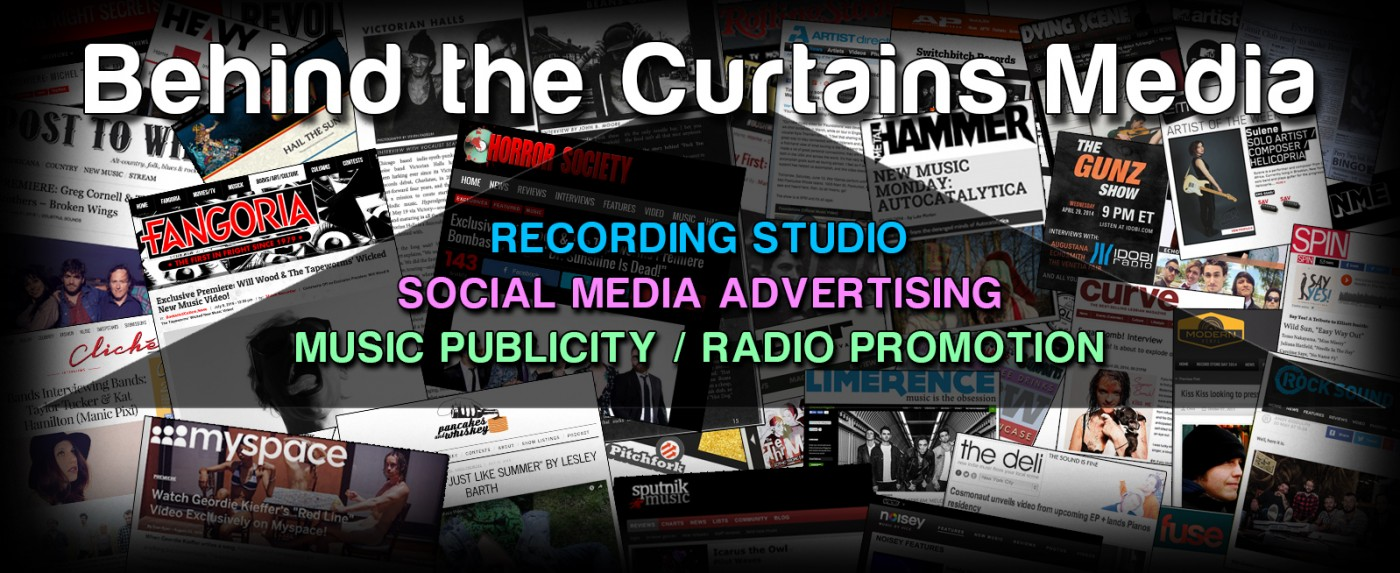 Opportunity - Enter to Get a Song Mastered Free via Behind the Curtains Media studio!